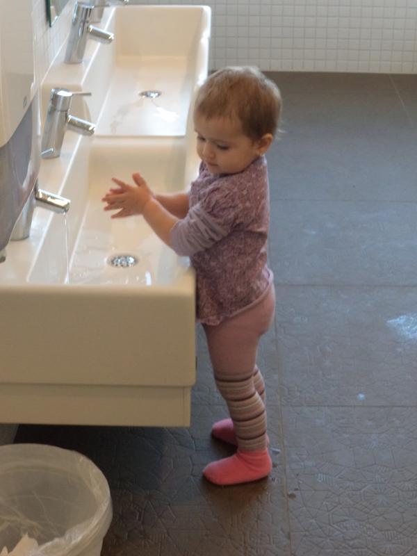 Haende waschen