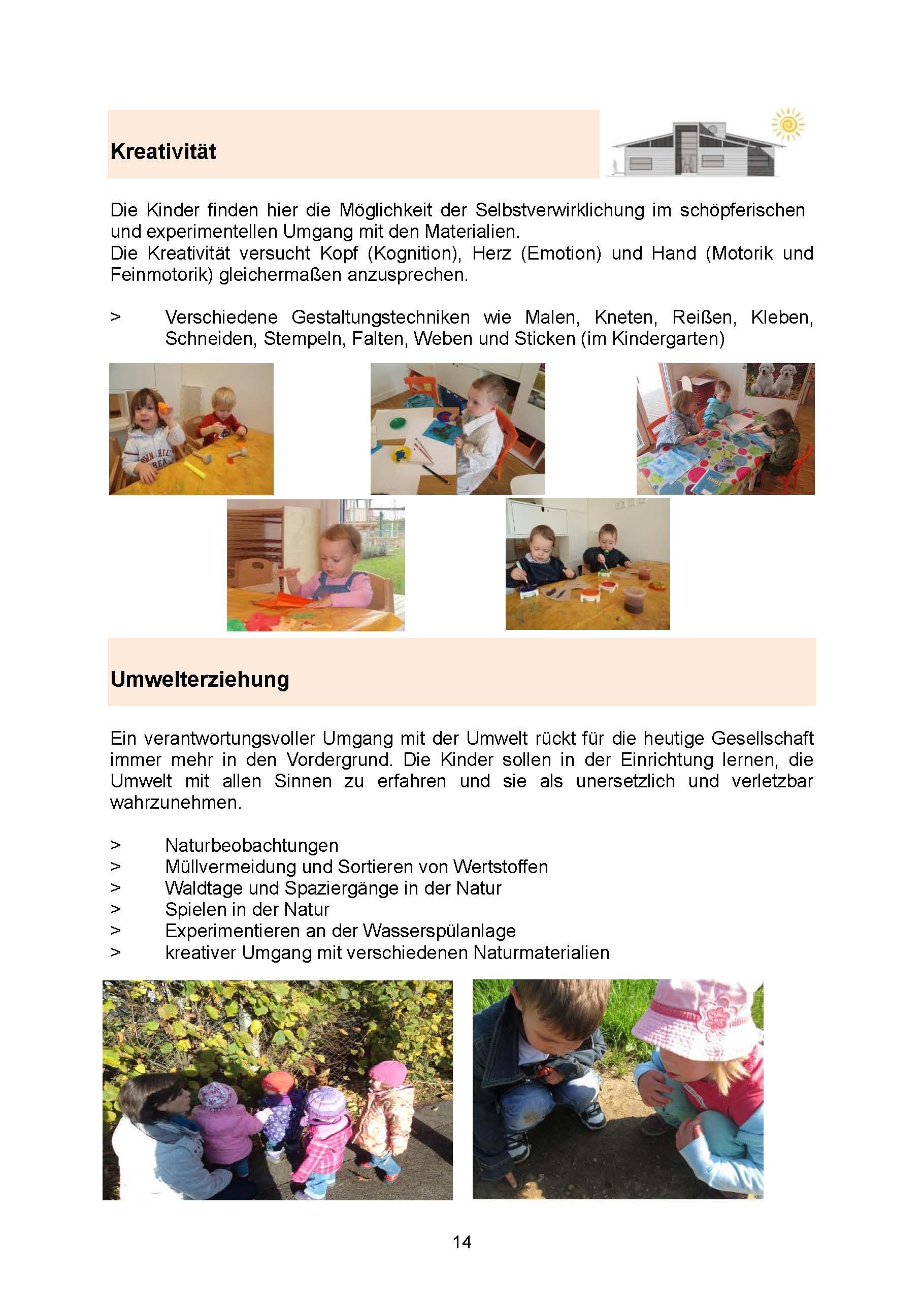 Seite 14 Kreativität und Umwelterziehung